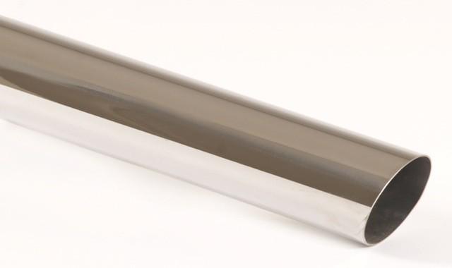 Endrohr 60mm rund scharfkantig abgeschrägt