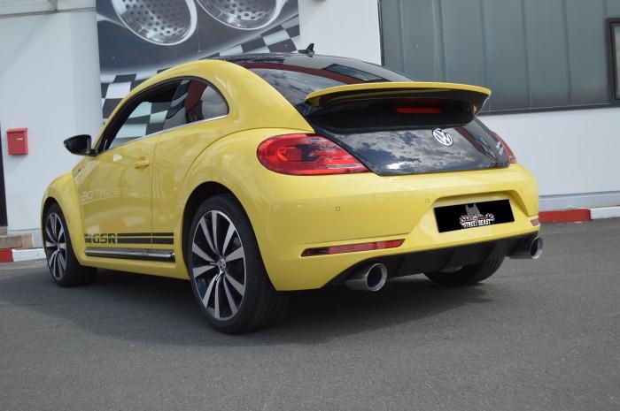 76mm Duplex-Anlage mit Klappensteuerung für VW Beetle 5C
