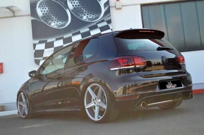 76mm Duplex-Anlage mit Klappensteuerung für VW Golf VI GTI + Edition 35