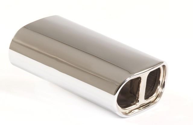 Endrohr 145x80mm oval gebördelt abgerundet