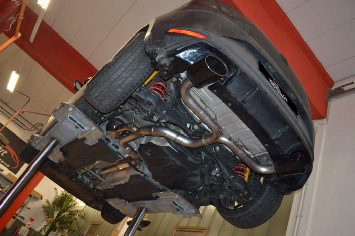 76mm Duplex-Anlage mit Soundgenerator für Seat Leon 5F inkl. FR & SC