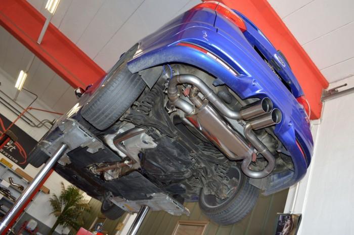 76mm Duplex-Anlage mit Klappensteuerung für Ford Focus MK3 (DYB) ST Turnier